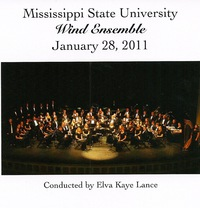 Mississippi State University Wind Ensemble: January 28, 2011