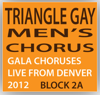 Triangle Gay Men's Chorus Concert Block 2A