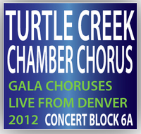 Turtle Creek Chorale Chamber Chorus Concert Block 6A