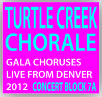 Turtle Creek Chorale Concert Block 7A