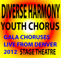 Diverse Harmony Youth Chorus Concert Block Stage Theatre