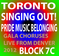 Singing OUT! Presents: Pride, Music, Belonging Live from Ellie Caulkins Opera House! Concert Block 7C