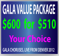 $600 GALA Gift Certificate for $510
