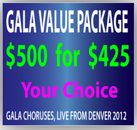 $500 GALA Gift Certificate for $425