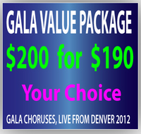 $200 GALA Gift Certificate for $190